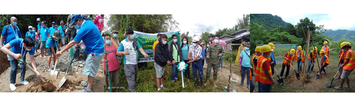 Barangays in Calinog, Janiuay gets irrigation pipelines, agroforestry support facilities