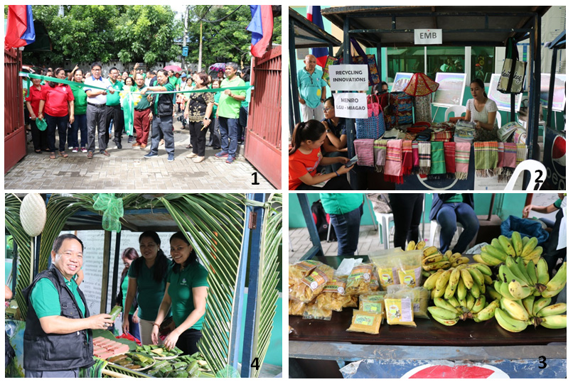 DENR exec calls on employees to support products of local people's